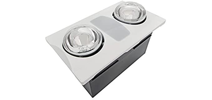 Aero Pure Contemporary - Bathroom Ceiling Fan Heater