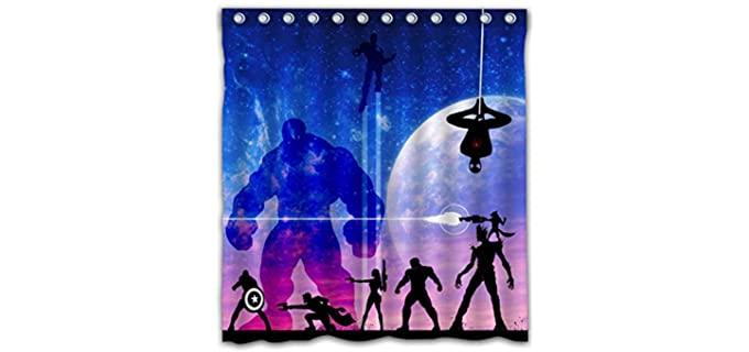 Aoskin  - Marvel Shower Curtain