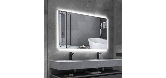 BBE Smaller Wall Mounted - LED Bathroom Mirrors