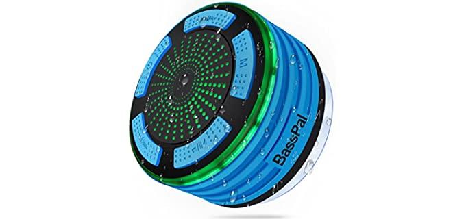 BassPal Portable - Shower Waterproof Radio