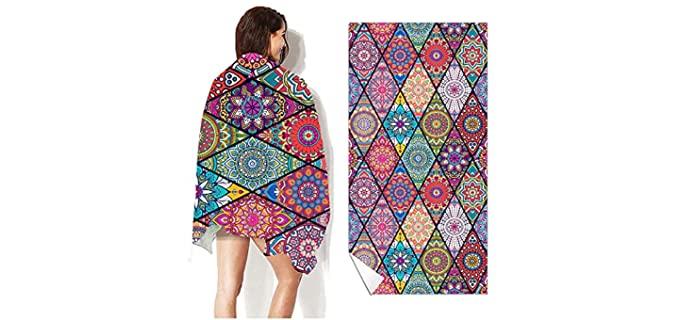 Auslerora 3060 - Mandala Camping Towels