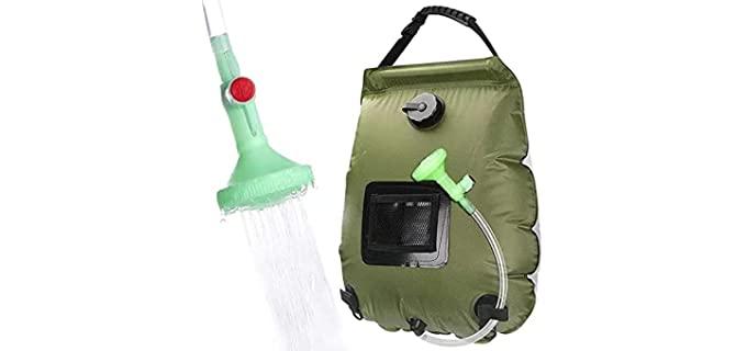 DOTSOG Switchable - Solar Bag for Shower