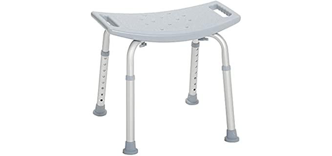 Drive Medical Adjustable - White Shower Bench