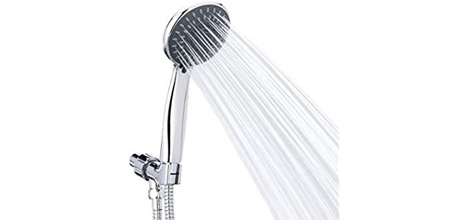 Briout Massaging - Sleek Shower Head With Hose
