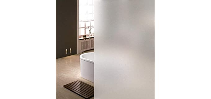 Niviy Static Cling - Etched Frosted Glass Film