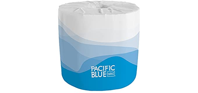 Pacific Blue Two Ply - EmbossedToilet Paper