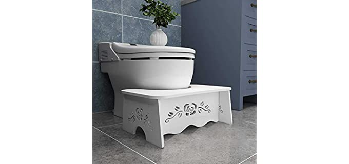 Fanwer Wood - Portable Squatting Toilet Stool