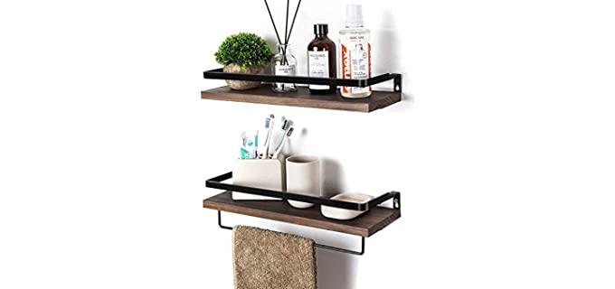 Soduku Floating Shelves - Over the Toilet Cabinet