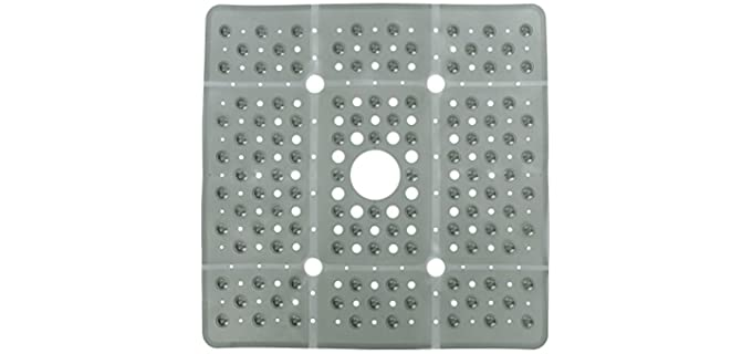 SlipX Solutions - Shower Mat with Drainage Hole
