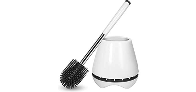Nacena Silicone - Toilet Brush and Holder