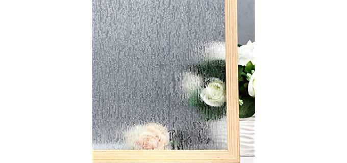 VELIMAX Rain-Glass - Frosted Film for Shower Doors