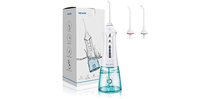 NicBox Pressurized - Pulsating Dental Water Flosser