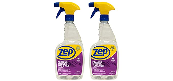 Zep Foaming - Tile Cleaner for Shower Floors